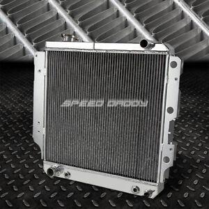 3-Row Lightweight Aluminum Core Radiator for 87-06 Jeep Wrangler YJ/TJ 2.4L-4.2L