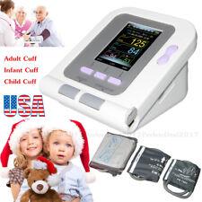 Digital Blood Pressure Monitor Upper Arm NIBP Monitor Child Infant Adult Cuff.US