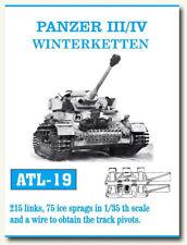 Friulmodel 1/35 Panzer III/IV Winterketten Metal Tracks (215 links) ATL-19
