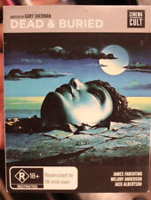 DEAD & BURIED RARE DELETED PAL BLURAY BLU-RAY GARY SHERMAN FILM, JAMES FARENTINO