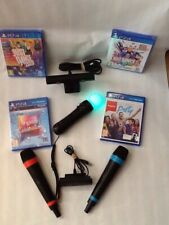 (ps4)just Dance 2019+20(singstar)sing Games &Wireless  Mics & Ps4 Camera Move