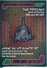 Star Trek Aliens Chase Quotable Klingon Q3