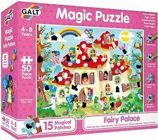 Galt Toys Magic Puzzle Fairy Palace, Interactive Childs Game, Rub and Reveal