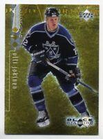 1998-99 UD Black Diamond OLLI JOKINEN Rare GOLD FOIL PARALLEL #/1000 Finland #42