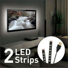 NEW LED BackLight for 32-80in HDTV USB Ambient Moodlight Flatscreen Stick-on KIT