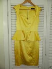 Cue Viscose Peplum Dresses for Women