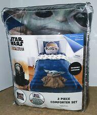 Star Wars The Mandalorian 2-Piece Twin/Full Comforter Set NEW! Baby Yoda