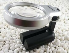 Handheld Magnifying LED Light Illuminated Loupe Magnifier glass TH7006