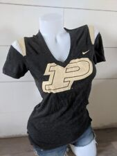 Nike Purdue V Neck Fitted Top size S