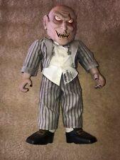 Hallowewn Zombie Baby Spriit Halloween Rare Htf One Of A Kind Gemmy Morbid knife