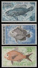 Dahomey 1973 - Mi-Nr. 531-533 ** - MNH - Fische / Fish