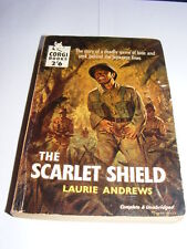 The Scarlet Shield by Laurie Andrews PB 1959 war novel set in Burma