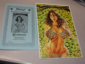 Cavewoman Hunt #1 Special Edition Limited to 750 copies Virgin Variant w/cert