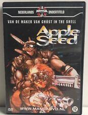 Apple Seed Manga Anime DVD NL Subs Dutch Version