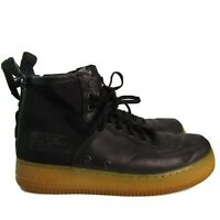 Nike SF Air Force 1 Mid Men's | Sz 10.5 |Black Light brown Gum |Style 917753 003