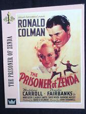 """""""1"""" SUPER CINEMA - DUE EMME """" TRADE CARD""""-  THE PRISONER OF ZENDA - COLMAN"""