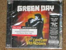 GREEN DAY - 21st Century Breakdown - TARGET EXCLUSIVE 2 CD w/ BONUS LIVE CD! NEW