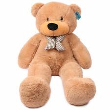 """Teddy Bear Giant 55"""" Big Stuffed Animal Brown Plush Soft Toy 140cm HUGE Cuddly"""