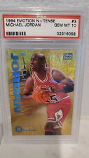 1994 Skybox Emotion N-Tense Michael Jordan #3 PSA 10 GEM MINT
