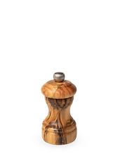 PEUGEOT - Moulin à poivre manuel en bois d'olivier, 10 cm - 4in Bistro
