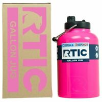 RTIC® 1 Gallon Pink Water Jug / Bottle Insulated Tumbler Rambler Keeps COLD 24hr