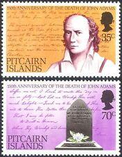 Pitcairn Islands 1979 John Adams/Mutiny/People/HMS Bounty/History 2v set n13740