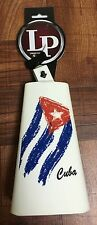 Lp Timbale Cowbell Painted With Cuban Flag Design Lp205-Qba