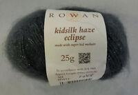 (42 €/100 g): 25 g Rowan KIDSILK HAZE ECLIPSE, Farbe Sh 454 grau  #3690