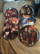 Rockwell *Light Campaign Series* - 6 Vintage Plates - Series #6 - By Knowles