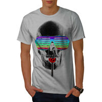 Wellcoda Hippie Candy Cool Mens T-shirt, Crazy Graphic Design Printed Tee