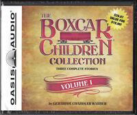 NEW The Boxcar Children Collection Volume 1 CD Audio Gertrude Chandler Warner