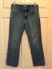 Women's Levis 505 Jeans Size 8M Med Wash Straight Leg