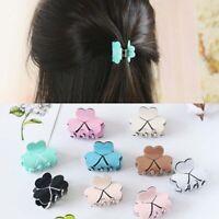 Women Fashion Acrylic Mini Hairpins Colorful Clamp Hair Claw Clips Barrettes x