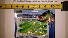 Reaction Strike Fluttertail JR 5 inches long Fishing lure soft plastics