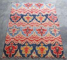 4' x 6' Handmade Cotton Rug Colorful Printed Design Modern Carpet Area Rug
