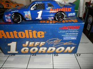 JEFF GORDON #1 AUTOLITE 1989 THUNDERBIRD ACTION 1/24 CWC XRARE NICE
