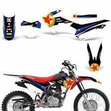 Graphic Kit Honda CRF125F  Decal Wrap w/ Backgrounds + Rim Stickers 2014-2016 RS