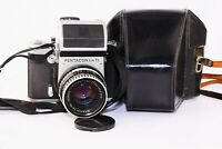 PENTACON SIX TL SLR film camera MEDIUM Format w/s Carl Zeiss Jena BIOMETAR EXC