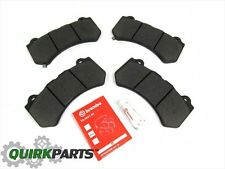 12-17 JEEP GRAND CHEROKEE SRT8 SRT FRONT BRAKE PADS BREMBO MOPAR GENUINE OEM NEW