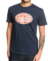 QUIKSILVER MENS T SHIRT.NEW WHAT WE DO BEST NAVY COTTON SHORT SLEEVED TOP 9W 92B