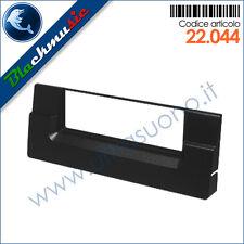 Mascherina supporto autoradio ISO Bmw X5 (E53 1999-2006) colore nero