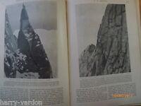 Rock Climbing English Crags Scafell Cricket Jephson Rare Antique Articles 1904