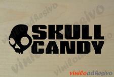 PEGATINA STICKER VINILO Skull Candy calavera autocollant aufkleber adesivi