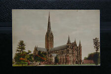 Salisbury Cathedral, Wiltshire- Gothic Vintage Postcard- Friths Series Unposted