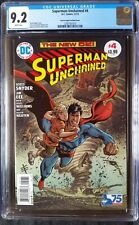 Superman Unchained (2013 DC) #4 Garcia-Lopez Bronze Age Variant CGC 9.2 1:50