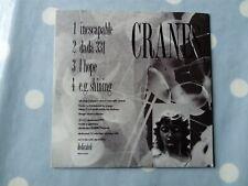 Cranes Inescapable EP Rare 4 Track CD