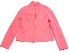 Worth Womens XLP 16P Blazer Jacket Cardigan Salmon Open Front