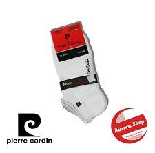 3 Mini Calze da Donna Pierre Cardin in Morbido Filo di Scozia Elasticizzato 35/41 Nero