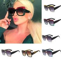 2019 Women Oversized Square Luxury Sunglasses Gradient Lens Vintage Fashion New