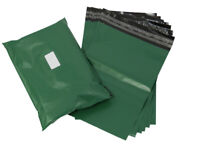 "NEW OLIVE GREEN 10X14"" Mailing Postal Poly Postage Bags Mailers (250x350mm )"